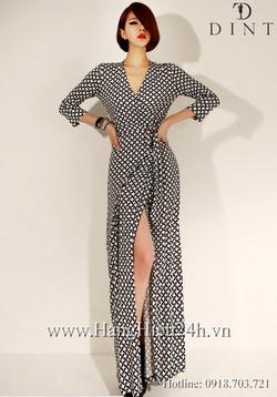 Ảnh số 47: Váy liền thân Hàn Quốc D2185 - Giá: 1.990.000