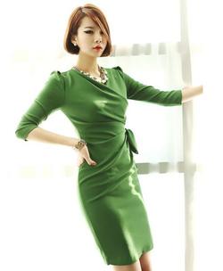 Ảnh số 1: Váy liền thân Hàn Quốc D2184 - Giá: 1.860.000