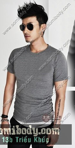 Ảnh số 82: áo thun cổ tim - Giá: 120.000
