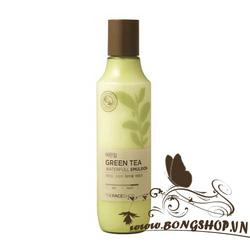 Ảnh số 95: Sữa dưỡng Green tea waterfull emulsion - Giá: 260.000