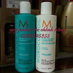 Ảnh số 26: Gội xả làm phồng tóc Moroccanoil Volume 250ml - Giá: 650.000