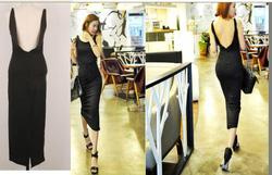 Ảnh số 49: váy maxi thun cotton - Giá: 310.000