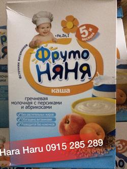 Bột ăn dặm Fruto NyaNya hộp 200gr - Giá: 130.000
