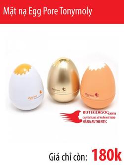 Ảnh số 41: Mặt nạ Egg Pore Tonymoly - Giá: 180.000