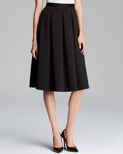 Ảnh số 66: Chân váy midi  2 túi hông, vải tuytxi - Giá: 300.000
