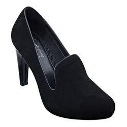 ?nh s? 8: Easy Spirit 6 ,6.5, 7, 7.5  Giày pump màu đen da lộn , viền da  Giày quai bản to ôm chân  Cao 8cm - Giá: 1.800.000