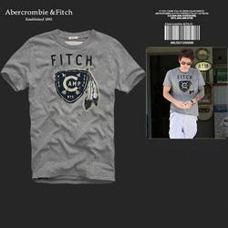 Ảnh số 89: Áo thun cổ tròn abercrombie fitch AF nam giới thời trang châu Âu thể thao - Giá: 220.000