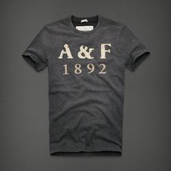 Ảnh số 87: Áo thun cổ tròn abercrombie fitch AF nam giới thời trang châu Âu thể thao - Giá: 220.000