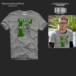 Ảnh số 84: Áo thun cổ tròn abercrombie fitch AF nam giới thời trang châu Âu thể thao - Giá: 220.000