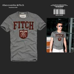 Ảnh số 83: Áo thun cổ tròn abercrombie fitch AF nam giới thời trang châu Âu thể thao - Giá: 220.000