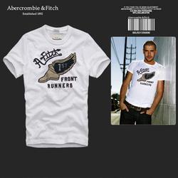 Ảnh số 82: Áo thun cổ tròn abercrombie fitch AF nam giới thời trang châu Âu thể thao - Giá: 220.000