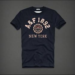 Ảnh số 74: Áo thun cổ tròn abercrombie fitch AF nam giới thời trang châu Âu thể thao - Giá: 220.000