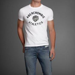 Ảnh số 60: Áo thun cổ tròn abercrombie fitch AF nam giới thời trang châu Âu thể thao - Giá: 220.000