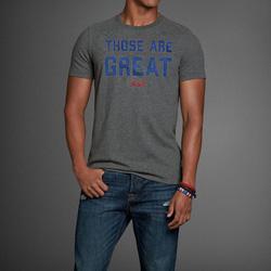 Ảnh số 52: Áo thun cổ tròn abercrombie fitch AF nam giới thời trang châu Âu thể thao - Giá: 220.000
