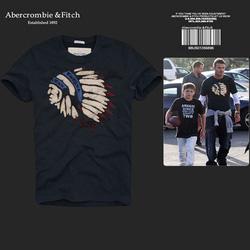 Ảnh số 46: Áo thun cổ tròn abercrombie fitch AF nam giới thời trang châu Âu thể thao - Giá: 220.000