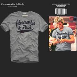 Ảnh số 44: Áo thun cổ tròn abercrombie fitch AF nam giới thời trang châu Âu thể thao - Giá: 220.000