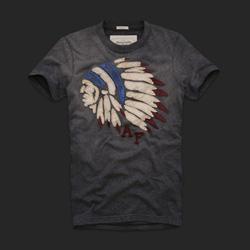 Ảnh số 42: Áo thun cổ tròn abercrombie fitch AF nam giới thời trang châu Âu thể thao - Giá: 220.000
