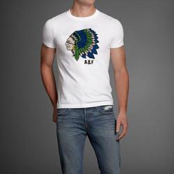 Ảnh số 33: Áo thun cổ tròn abercrombie fitch AF nam giới thời trang châu Âu thể thao - Giá: 220.000
