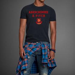 Ảnh số 13: Áo thun cổ tròn abercrombie fitch AF nam giới thời trang châu Âu thể thao - Giá: 220.000