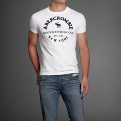 Ảnh số 9: Áo thun cổ tròn abercrombie fitch AF nam giới thời trang châu Âu thể thao - Giá: 220.000