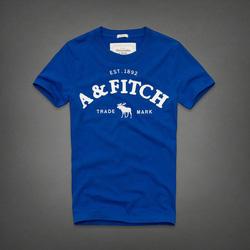 Ảnh số 4: Áo thun cổ tròn abercrombie fitch AF nam giới thời trang châu Âu thể thao - Giá: 220.000