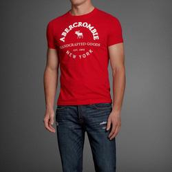 Ảnh số 3: Áo thun cổ tròn abercrombie fitch AF nam giới thời trang châu Âu thể thao - Giá: 220.000