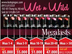 Ảnh số 88: Son Wet n Wild Megalast lip color - Giá: 43.000
