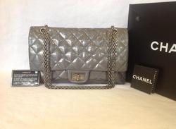 Ảnh số 7: MS TG9 : Túi Chanel Reissue patent, màu ghi đá, mới 97%, đầy đủ thẻ, 2 náp nhé các ss. Giá cực tốt : 65 triệu Qua MeElle múc ngay e nó đi ạ. Màu này c - Giá: 1.000