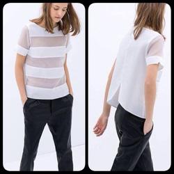 Ảnh số 17: Phông pha lưới Zara TQXK (đen, trắng) - Giá: 260.000