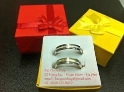 ?nh s? 94: Nhẫn đôi bạc Italy - Giá: 1.000