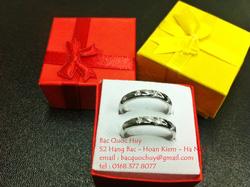 ?nh s? 98: Nhẫn đôi bạc Italy - Giá: 1.000