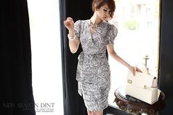 ?nh s? 8: Váy Đầm Vai Bồng - OVY14907 - Giá: 3.550.000