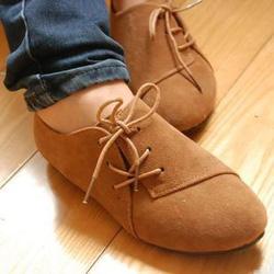 Ảnh số 4: Giày Oxford cột dây bên hông - Giá: 200.000