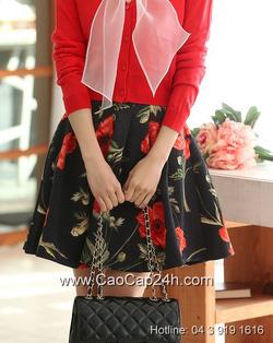 Ảnh số 5: Chân váy họa tiết Hàn Quốc 24633 - Giá: 1.520.000