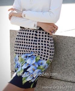 Ảnh số 28: Chân váy họa tiết Hàn Quốc SA14SK02 - Giá: 1.200.000