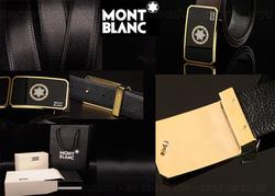 Ảnh số 15: Dây lưng Montblanc (đã bán) - Giá: 395.000