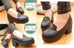 Ảnh số 43: Giày Loafer chunky chữ thập - 270k - Giá: 270.000