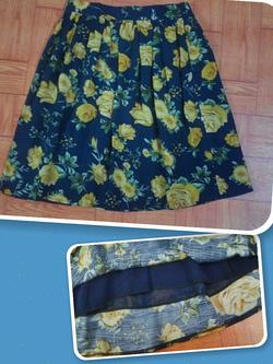 ?nh s? 20: SALE Chân váy hoa 2 lớp 2 túi hông - Giá: 150.000