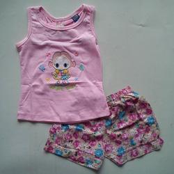 Ảnh số 2: Bộ Bg 2-7T, áo cotton quần vải thô mát - Giá: 10.000