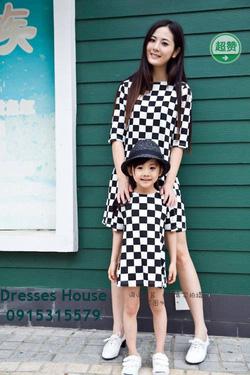 Ảnh số 18: Váy đôi cho mẹ và bé - Giá: 750.000