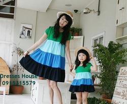 Ảnh số 19: Váy đôi cho mẹ và bé - Giá: 680.000