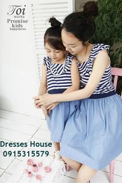 Ảnh số 24: Váy đôi cho mẹ và bé - Giá: 680.000