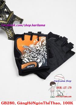 ?nh s? 27: Găng tay nam hở ngón, găng tay thể thao nam, găng tay tập thể hình, găng tay chống nắng cho nam - Giá: 100.000