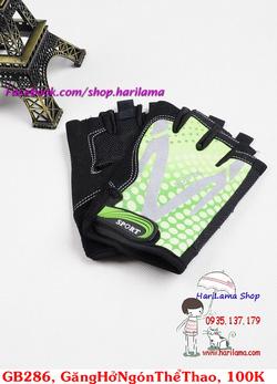 ?nh s? 33: Găng tay nam hở ngón, găng tay thể thao nam, găng tay tập thể hình, găng tay chống nắng cho nam - Giá: 100.000