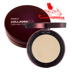 Ảnh số 24: Phấn Face it Collagen EX The Face Shop - Giá: 360.000