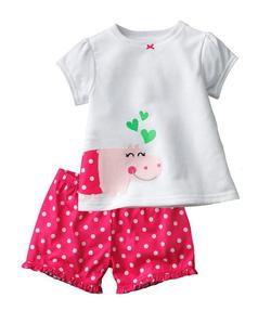 Ảnh số 4: Baby GAP made in Korea. Chất cotton Hàn cao cấp co giãn 4 chiều. 1 dây 6 bộ, sz 18-24 đến 6y - Giá: 145.000