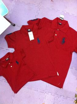 Ảnh số 1: Áo phông Polo màu đỏ đun - Giá: 330.000