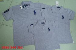 Ảnh số 3: Áo Polo màu xám - Giá: 330.000