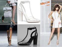?nh s? 42: Giày cao gót trong suốt Alexander Wang - 300k - Giá: 300.000