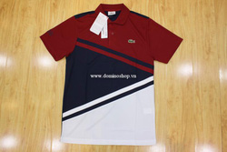 Ảnh số 18: Lacoste Short Sleeve Ultra Dry Diagonal Stripe Color Block Polo - Giá: 2.200.000